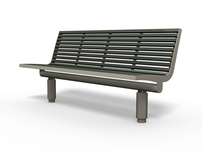COMFONY 400 | Panchina con schienale Panchina con schienale