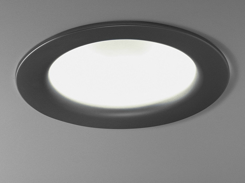 Fluorescent ceiling light BIG by Martinelli Luce