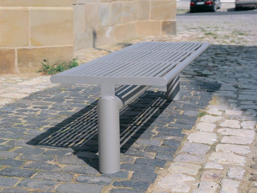 Stainless steel Bench SIARDO L 40 R | Backless Bench by BENKERT BÄNKE