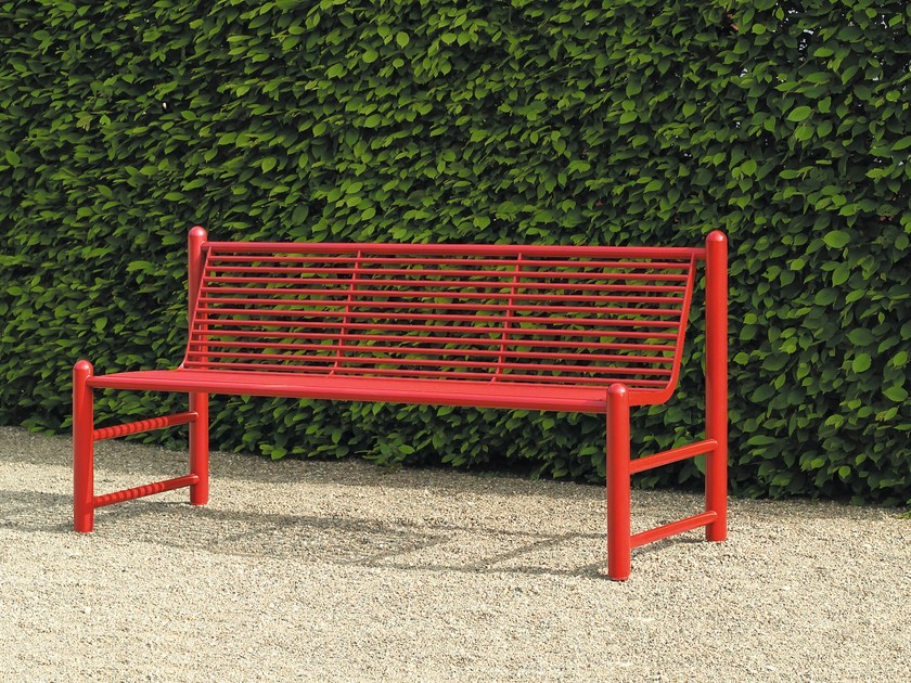 Bench with back SIARDO 130 R | Bench with back by BENKERT BÄNKE