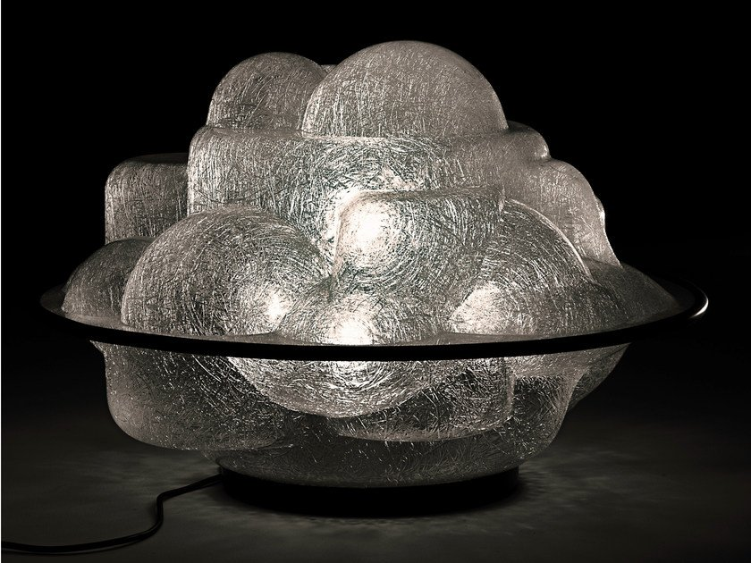 Fluorescent table lamp PROFITEROLLE by Martinelli Luce