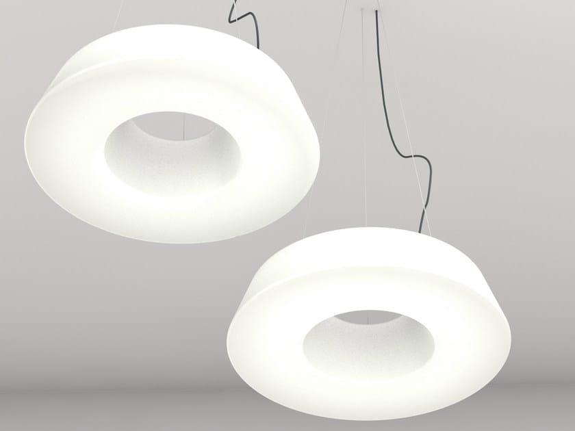 LED polyethylene pendant lamp CIRCULAR POL | LED pendant lamp by Martinelli Luce
