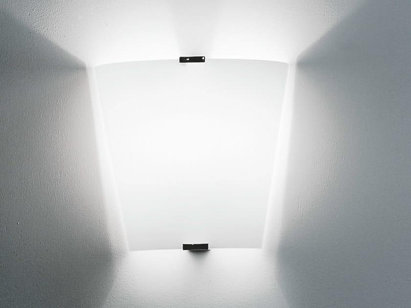 Blown glass wall light EMI by Martinelli Luce