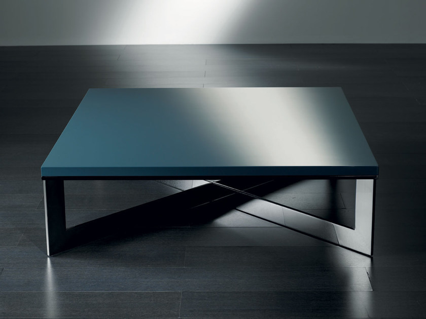 Low square coffee table CROS | Coffee table by Meridiani