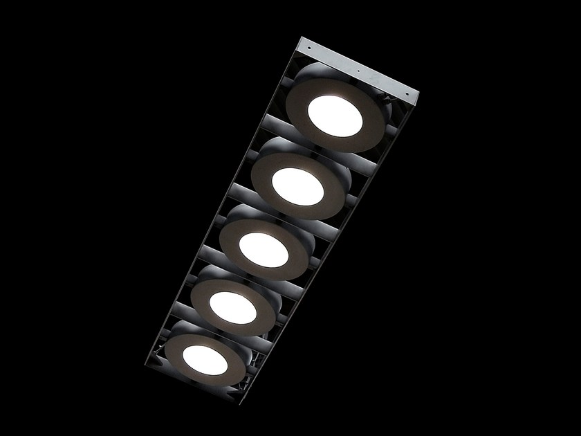 Direct light pendant lamp 5 GATE by Martinelli Luce