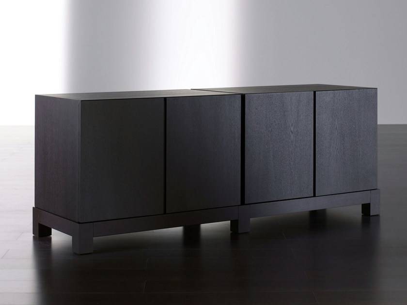 Wooden sideboard with doors DOUGLAS | Sideboard by Meridiani