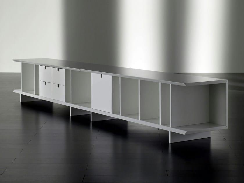 Wooden sideboard with doors HARRIS | Sideboard by Meridiani