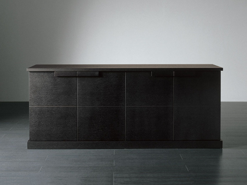 Wooden sideboard with doors GARY | Sideboard by Meridiani