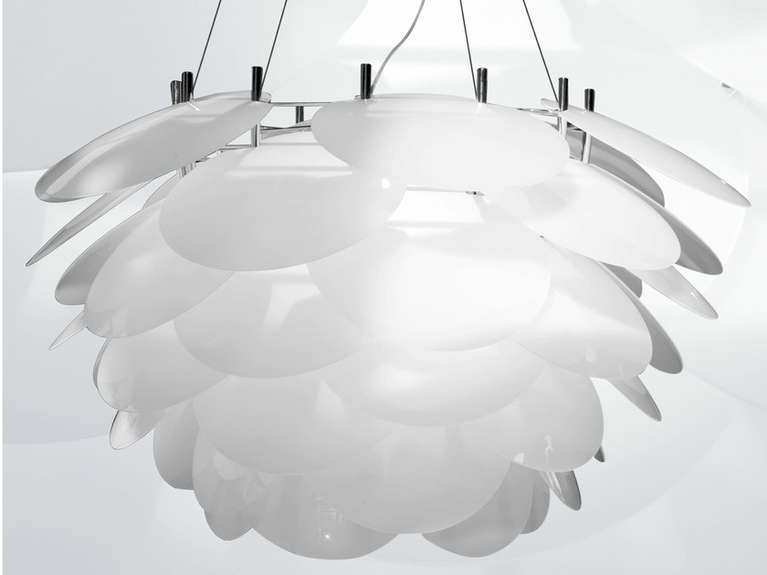 Metal halide pendant lamp NUVOLE VAGABONDE by Martinelli Luce