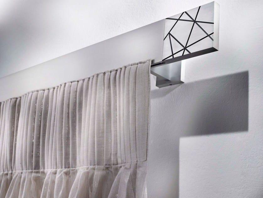 Contemporary style aluminium curtain rod CRISEIDE by Scaglioni