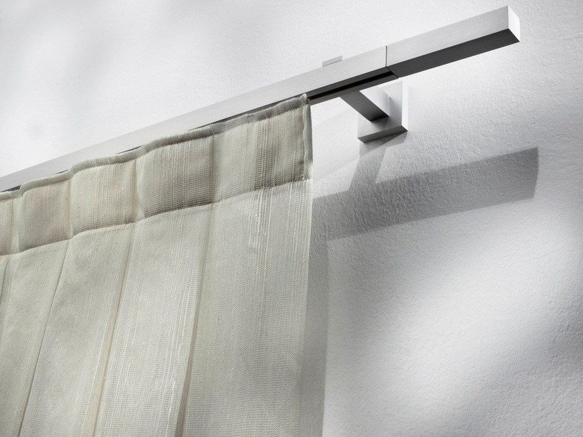 Contemporary style aluminium curtain rod PASITEA | Aluminium curtain rod by Scaglioni