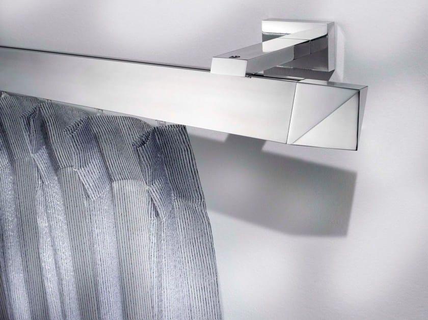 Contemporary style aluminium curtain rod POSEIDONE | Aluminium curtain rod by Scaglioni