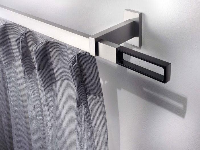 Contemporary style aluminium curtain rod CASSANDRA | Aluminium curtain rod by Scaglioni