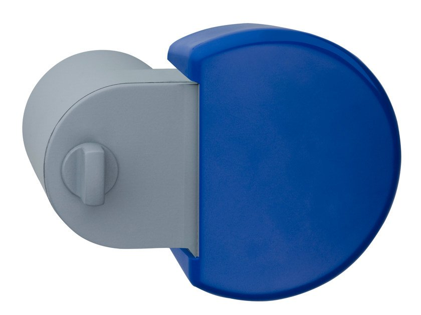 Anti-bacterial door knob with lock PIGIO by Serrature Meroni