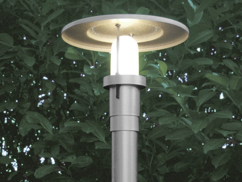 Fluorescent garden lamp post SISTEMA POLO | Garden lamp post by Martinelli Luce