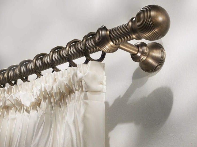Classic style brass curtain rod IMALA by Scaglioni