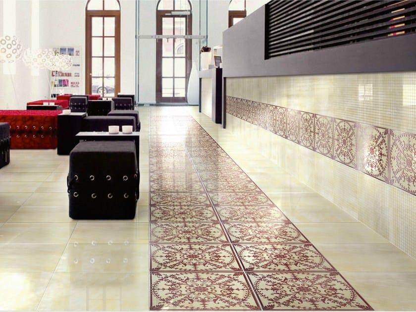 Porcelain stoneware wall/floor tiles GOLDENEYE ALLURE by CERAMICHE BRENNERO