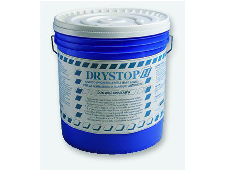 Renovating and de-humidifying additive and plaster DRYSTOP H by EDILTECO