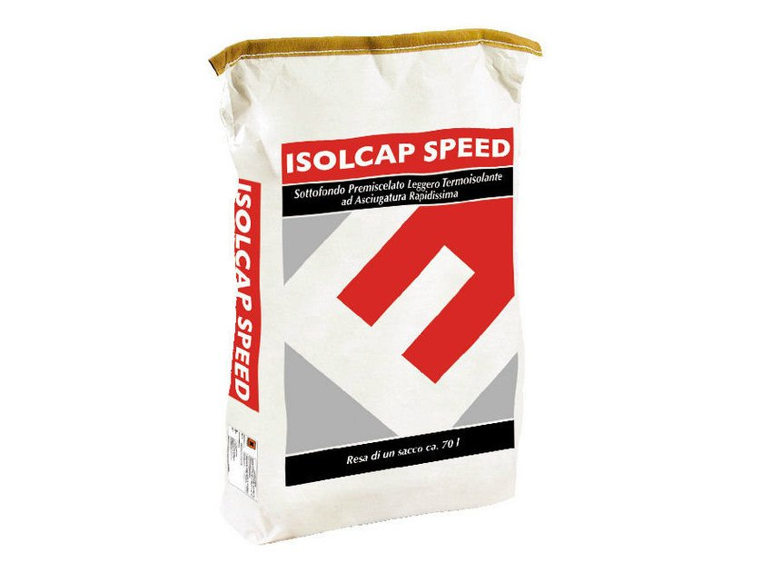 Pre-mix for thermal insulating screed ISOLCAP SPEED by EDILTECO