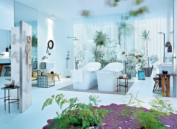 AXOR URQUIOLA   Bathroom furniture set By hansgrohe design Patricia ...