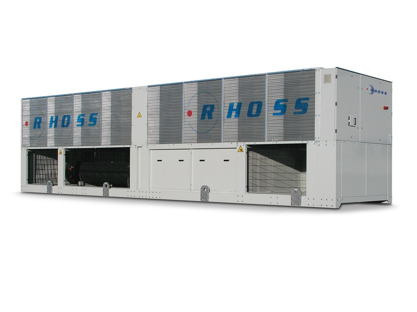 High energy efficiency packaged air-cooled water chillers Z-Power HE - TCAVZ 2770÷21290 by Rhoss