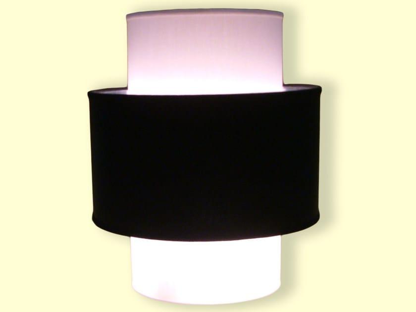 Drum shaped fabric lampshade CLASSIC   Drum shaped lampshade by Ipsilon PARALUMI