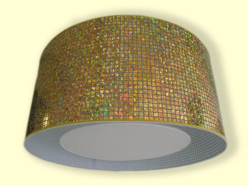 Drum shaped PVC lampshade CLASSIC | PVC lampshade by Ipsilon PARALUMI