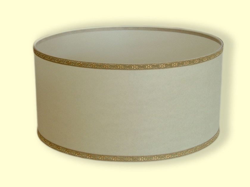 Drum shaped fabric lampshade CLASSIC | Lampshade by Ipsilon PARALUMI