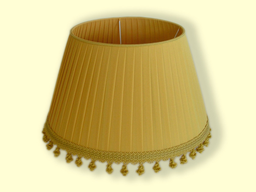 Cone shaped pleated fabric lampshade CLASSIC | Fabric lampshade by Ipsilon PARALUMI
