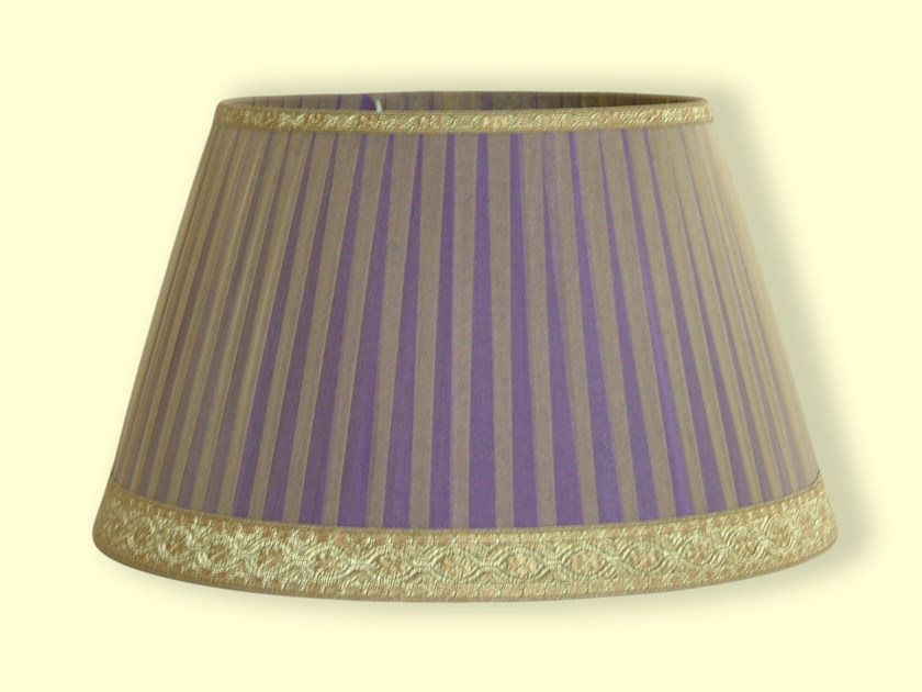 Cone shaped pleated fabric lampshade CLASSIC | Pleated lampshade by Ipsilon PARALUMI