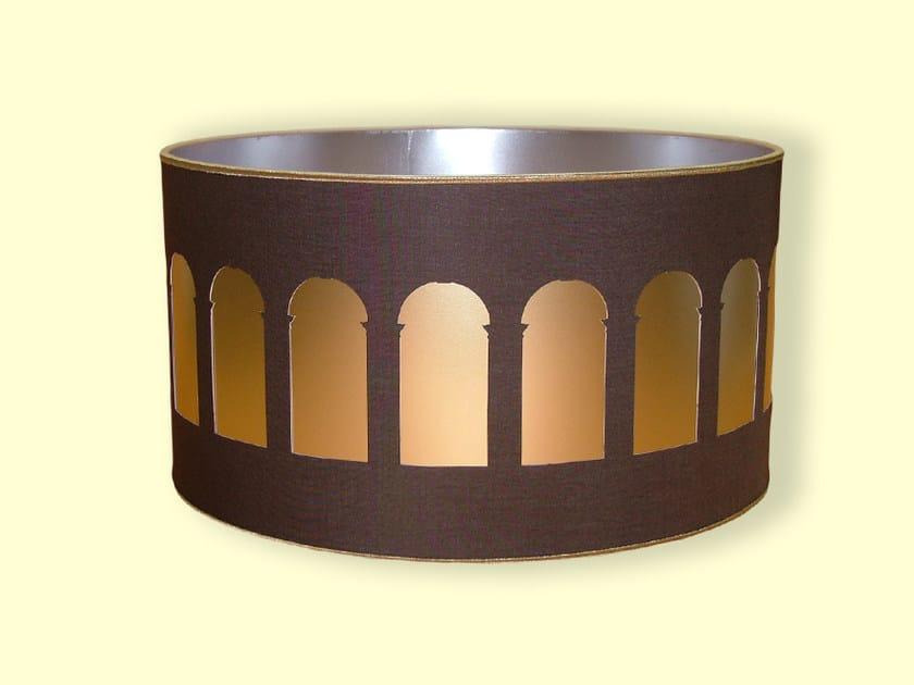 Drum shaped PVC lampshade HI-TECH   Lampshade by Ipsilon PARALUMI