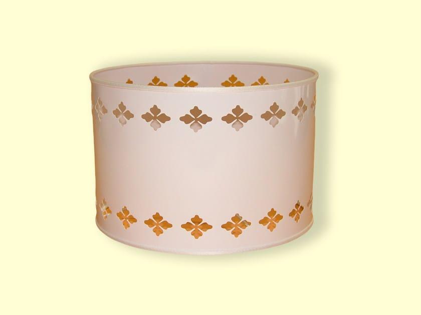 Drum shaped PVC lampshade HI-TECH | PVC lampshade by Ipsilon PARALUMI