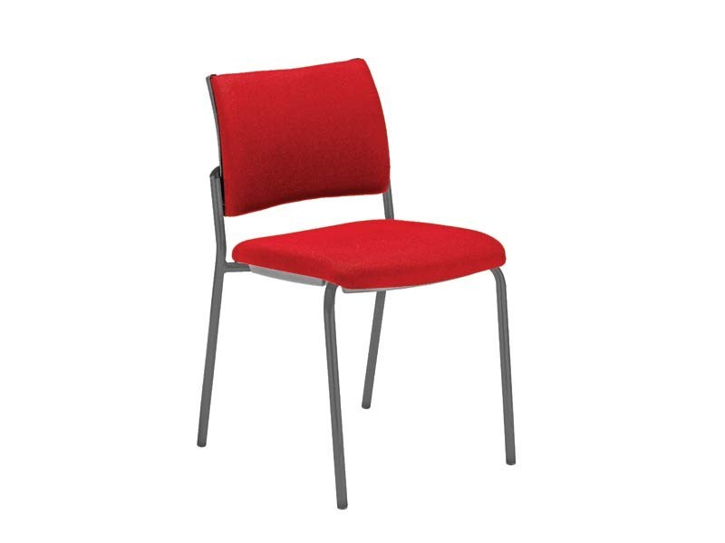 Upholstered fabric chair DYNAMICA | Chair by MASCAGNI