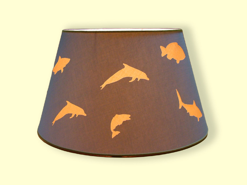 Cone shaped fabric lampshade HI-TECH | Cone shaped lampshade by Ipsilon PARALUMI