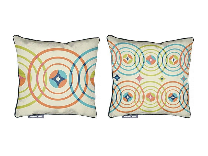 Square fabric cushion BOBARNOUM by CONCEPTUWALL