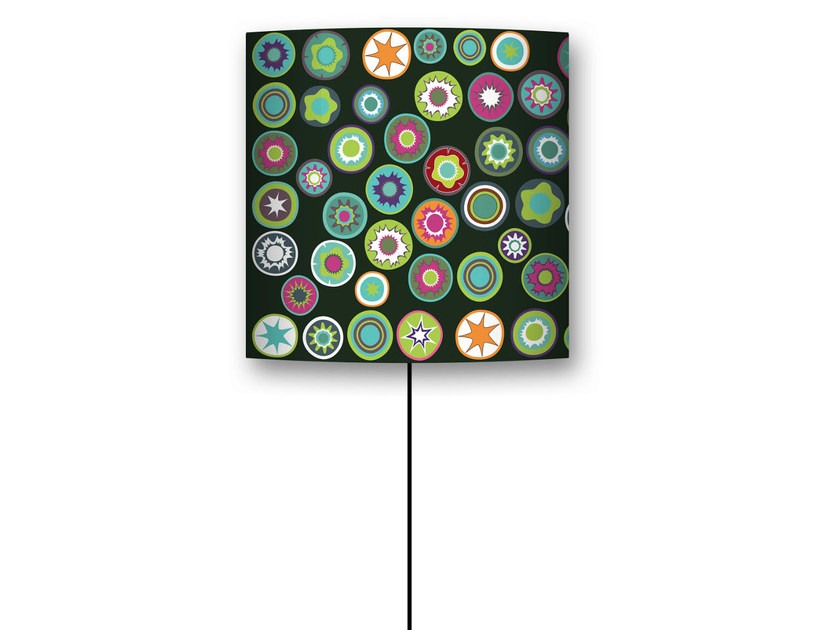 Drum shaped lampshade MILLEFIORI by CONCEPTUWALL