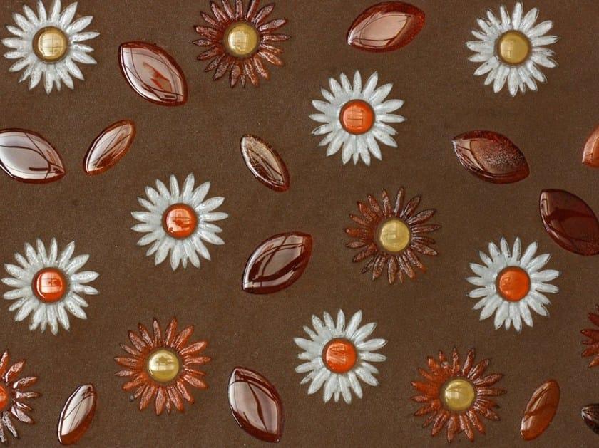 Glass mosaic FLEUR HIVER by VETROVIVO