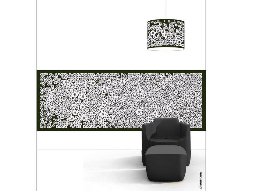 Wallpaper strip CHAMP DE FLEURS by CONCEPTUWALL
