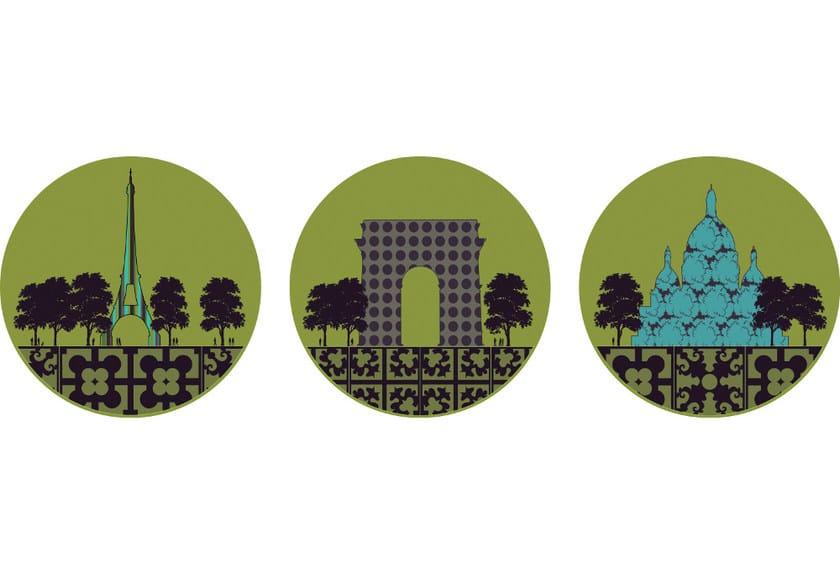 Fabric wall sticker PARIS by CONCEPTUWALL