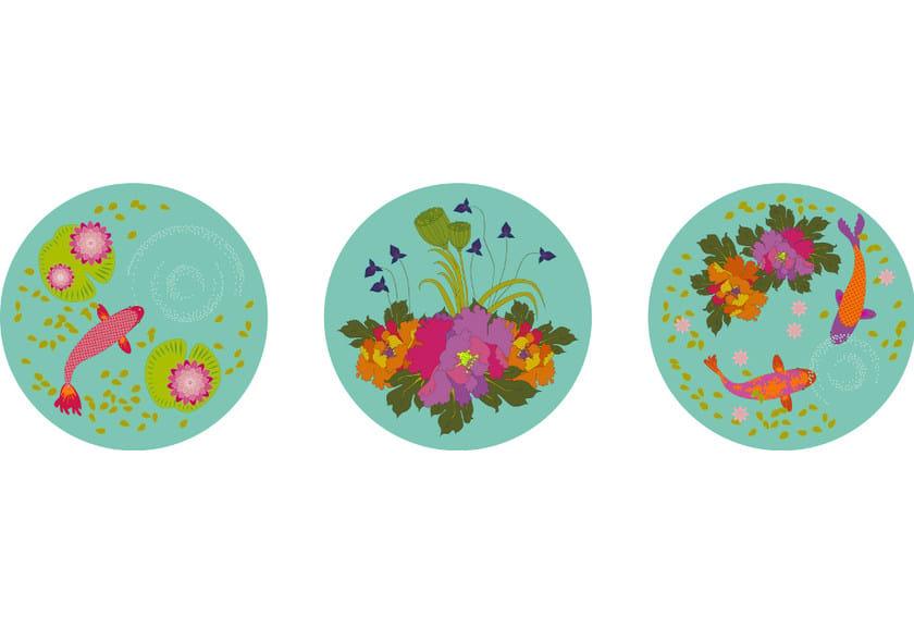 Fabric wall sticker KOI by CONCEPTUWALL