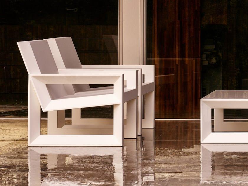 Garden armchair FRAME | Garden armchair by VONDOM