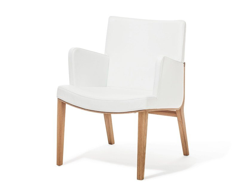 Upholstered easy chair MORITZ | Easy chair by TON