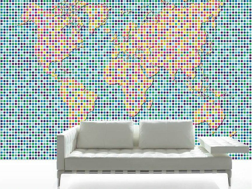 Wallpaper WORLD-POIS by CONCEPTUWALL