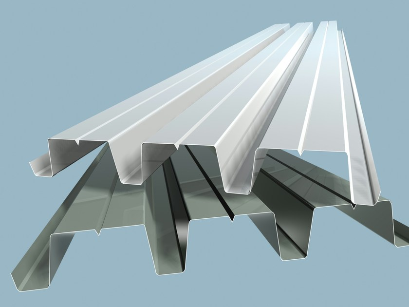 Metal sheet and panel for roof R/C 400 by Isolpack