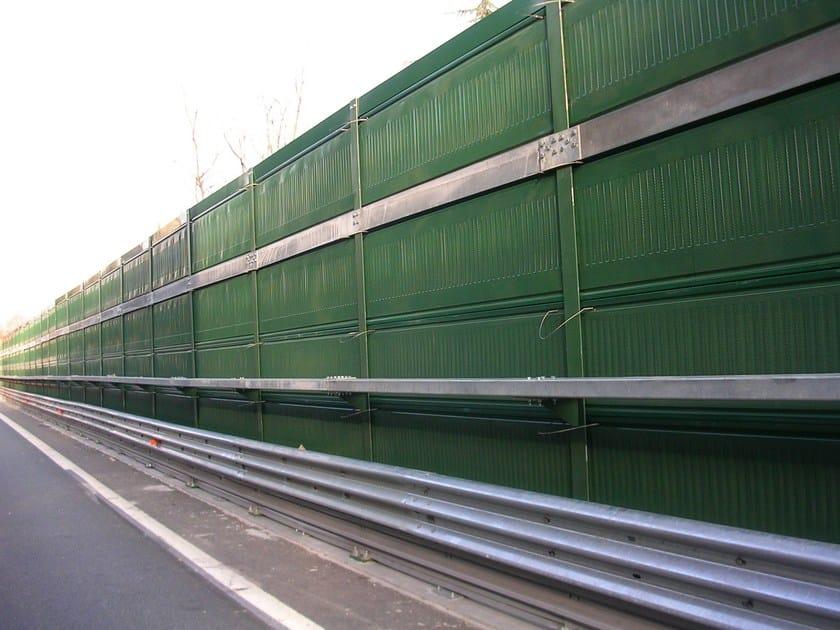 Road noise barrier AKURAIL 3000 by Sitav Costruzioni