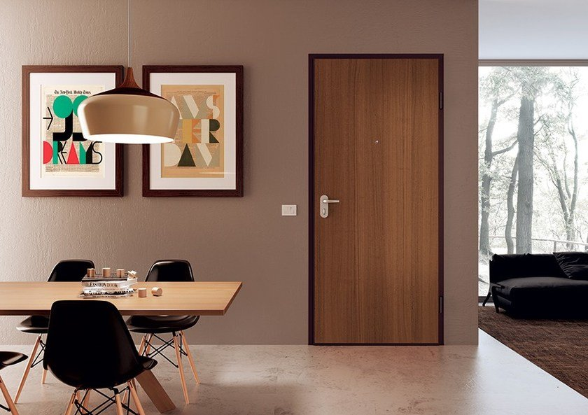 Armoured door panel LISCI by DiBi Porte Blindate