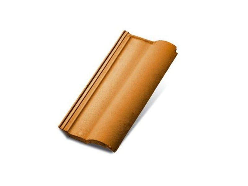 Coppo e tegola per copertura in laterizio