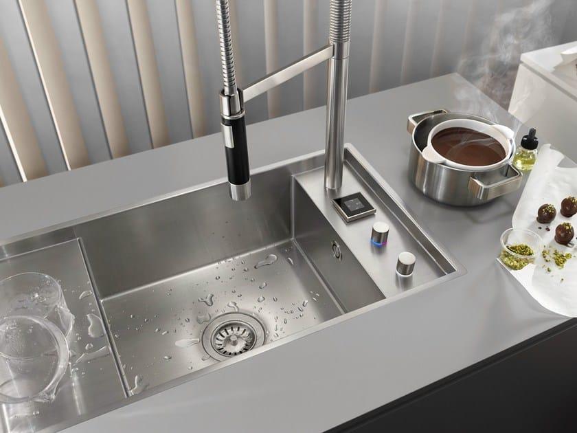Miscelatori Per Lavelli Da Cucina.Sistema Integrato Miscelatore Lavello Da Cucina Eunit
