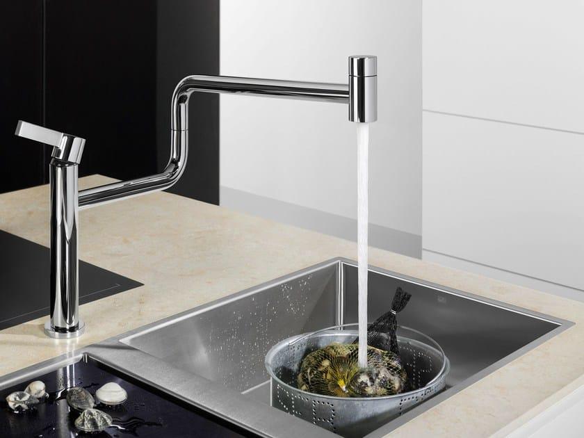 Countertop kitchen mixer tap PIVOT by Dornbracht