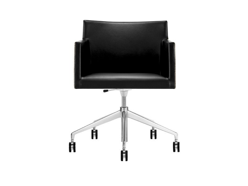 Task chair with 5-Spoke base with casters MASAI | Task chair with 5-Spoke base by arper